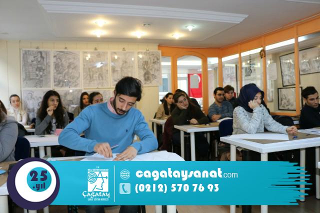 cagataysanat_resim kursu_yetenek sınavları_güzel sanatlar hazırlık kursu