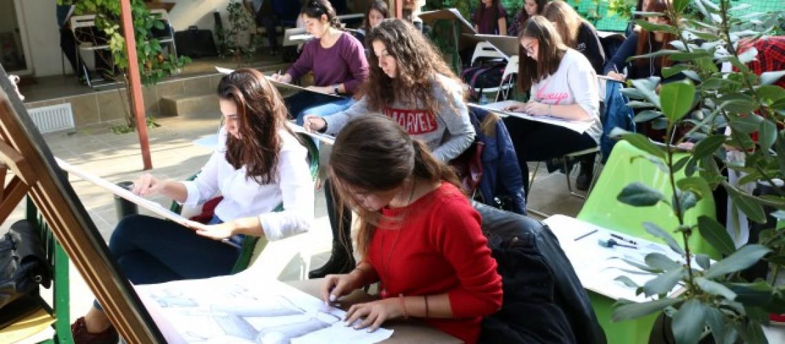 Haliç Üniversitesi özel yetenek sınavında başarılı olan öğrencilerimiz